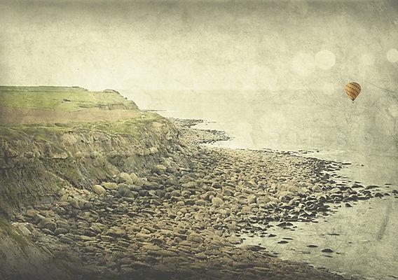 série photographie artistique paysages de nature en Europe, paysage de bord de mer dans le Nord Cap blanc nez La falaise