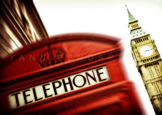 série photographie artistique paysages urbains, Allo Big Ben, calling London