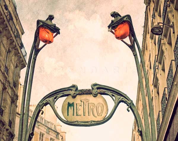 Metro Paris N° 3