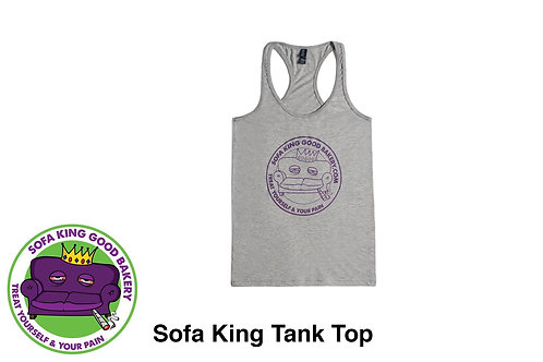 Sofa King Good Clothing - Purple Tank Top
