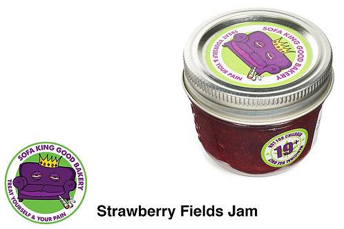 Strawberry Fields Forever Jam 200mg THC