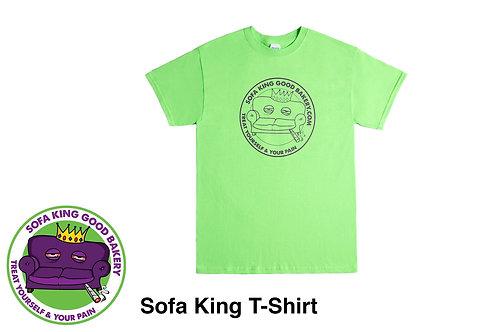 Sofa King Good Clothing - M Green Tshirts