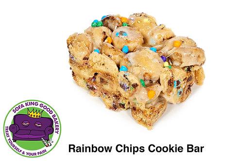 Rainbow Chips Cookie Bar - 100mg THC & 35mg of CBD