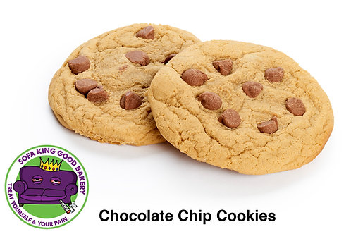 Chocolate, Chocolate chip, cookie, cookies, edibles, medibles