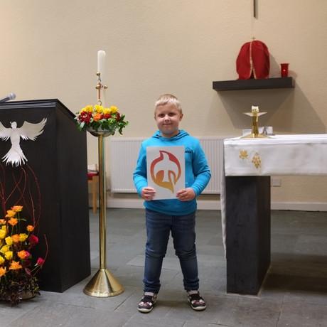 We celebrate Pentecost