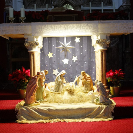 Crib at St Charles'