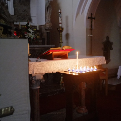 We celebrated Candlemas