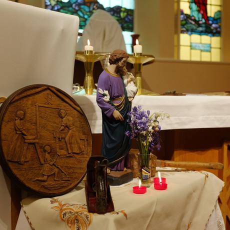 We celebrate St Joseph