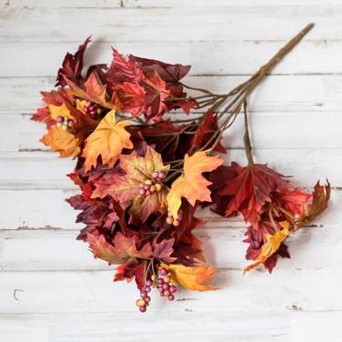 Fall Leaf Arrangement