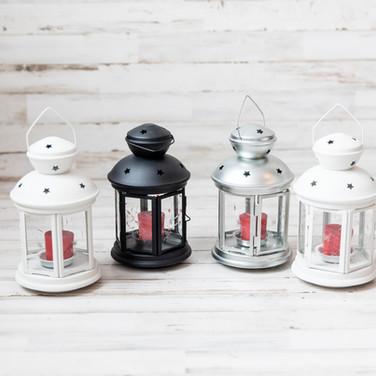 Small Metal Lanterns