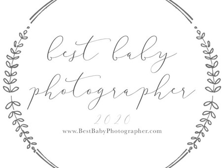 Voted BEST Baby Photographer