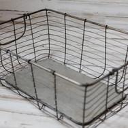 Medium Rectangle Wire Basket