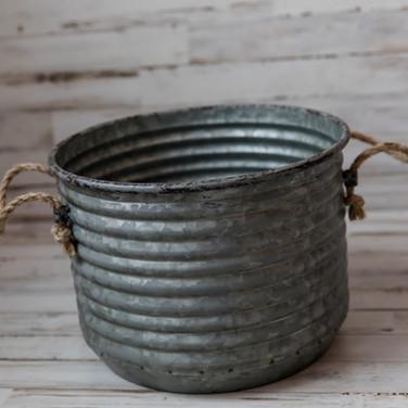 Corrugated Metal Bucket