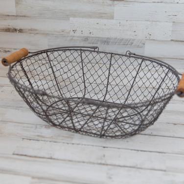Oval Chicken Wire Basket