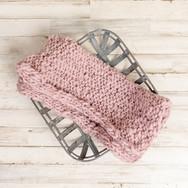 Pink Knit Wrap