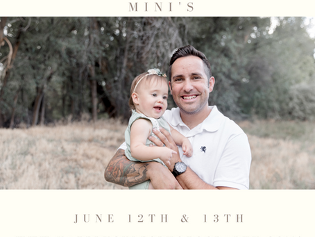 Adorable Daddy and Me Photo Session Ideas