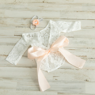 Baby Girl Lace with Headband