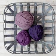 Purple Newborn Wraps