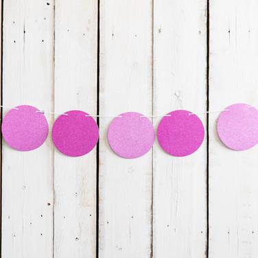 Purple Dot Banner