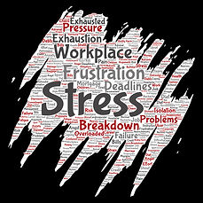 Stress wordogram shutterstock_720904444.