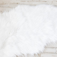 White Background Rug