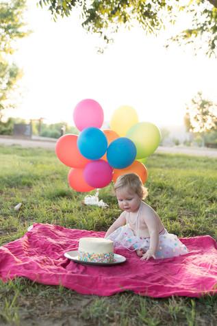 Cake Smash Photography - Kate Buckles Photography
