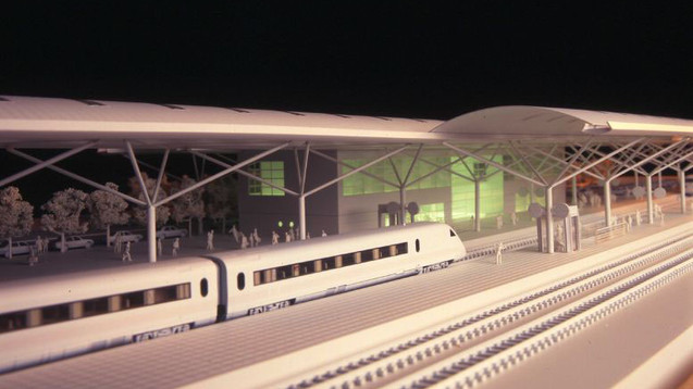 GUARDA TRAIN STATION