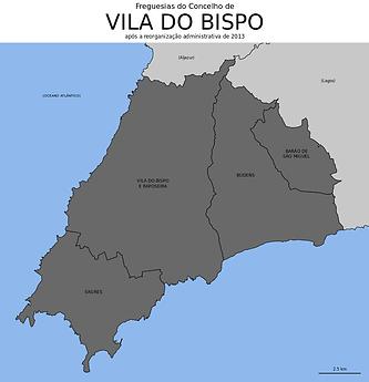 MAPA VILA DO BISPO