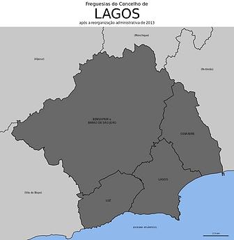 Mapa Lagos