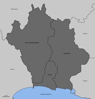 Mapa Portimão