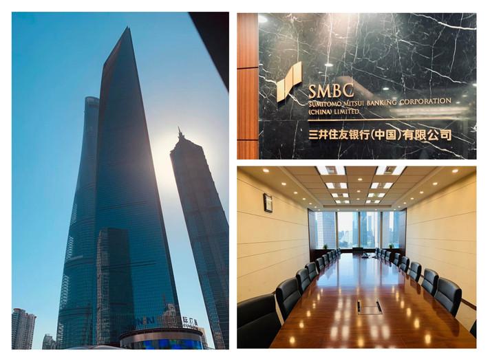 SWFC(上海世界金融センター)での 打ち合わせ。