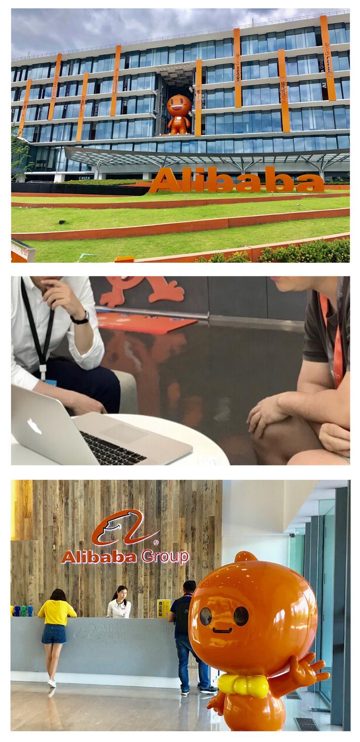 Alibaba 本社へ ご訪問。