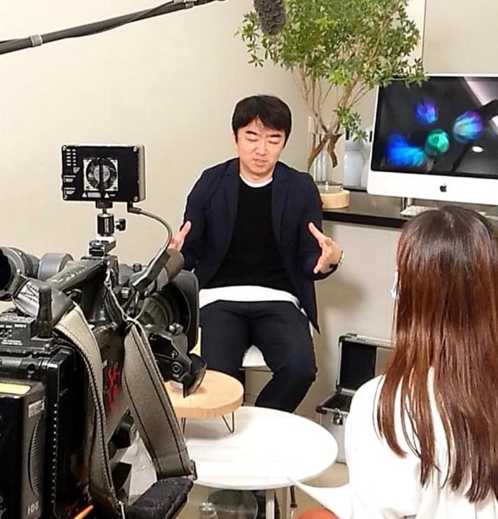 世界初のスマート マスク(コネクティッド マスク)について、日経ビジネスやTVニュースからの取材。