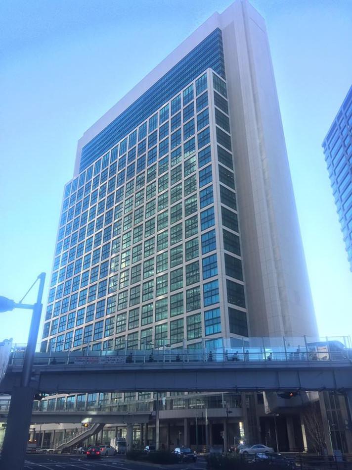 SoftBank本社に 訪問させていただきました。