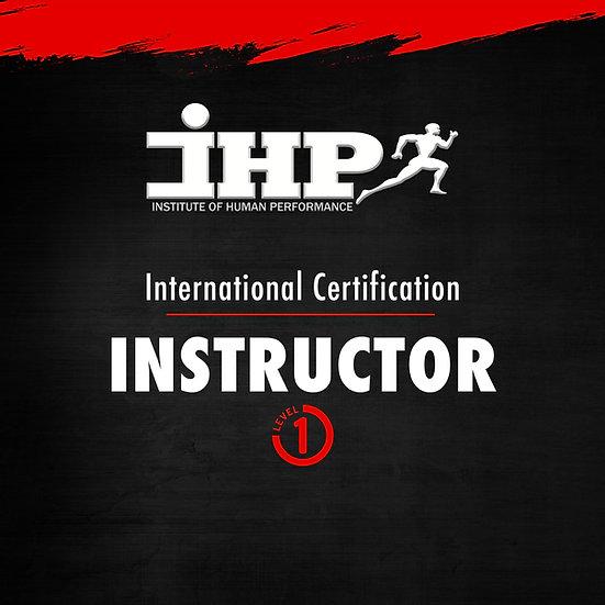IHPU Level 1 (Fitness Instructor) Certification