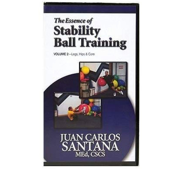 The Essence of Stability Ball training DVD Vol. 2