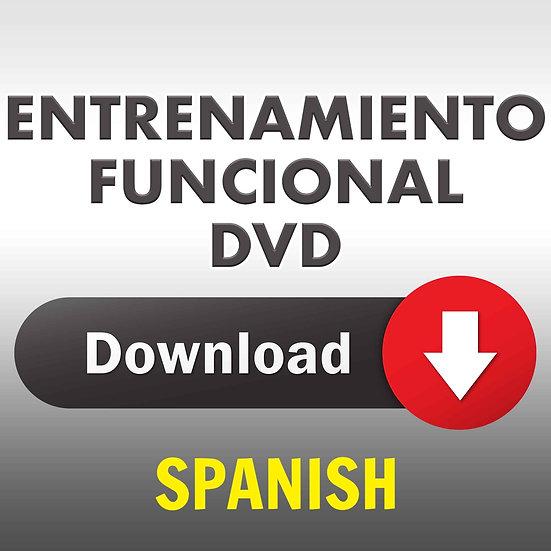 Entrenamiento Funcional Spanish DVD (Download DVD)