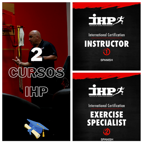 CURSO #1 & CURSO #2 (Instructor & Exercise Specialist) Certification
