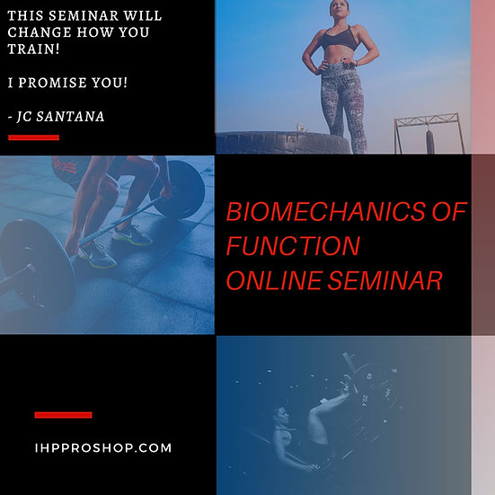 Seminario de Biomecánica de la Función.