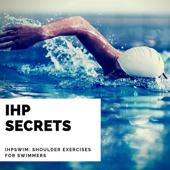 IHPSWIM: Shoulder Exercises for Swimmers