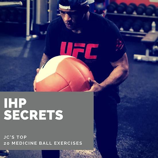 JC's Top 20 Medicine Ball Exercises Downloadable Video
