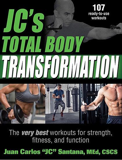 JC Santana's Total Body Transformation Libro