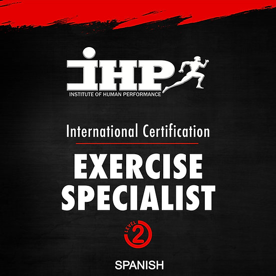 Exercise Specialist Certification – CURSO #2