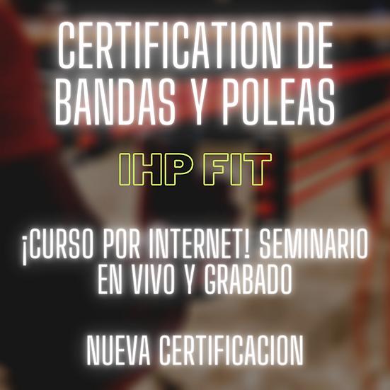 Certificación de Bandas y Poleas
