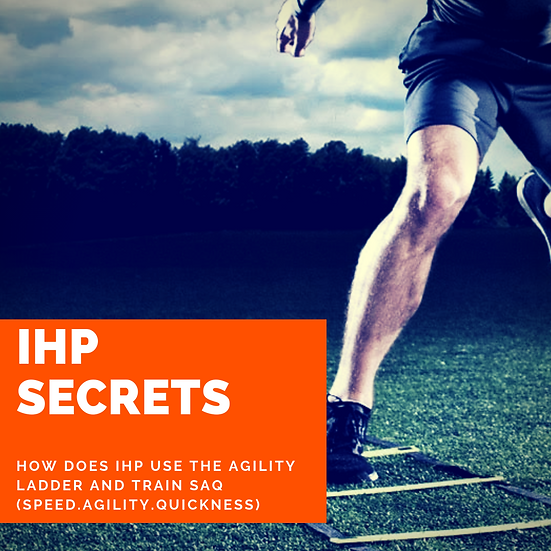 How IHP trains with the Agility Ladder and how we train SAQ