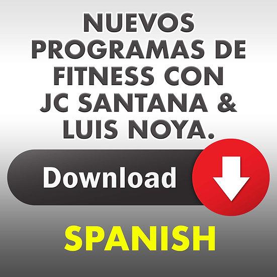 Nuevos Programas de Fitness con JC Santana y Luis Noya.
