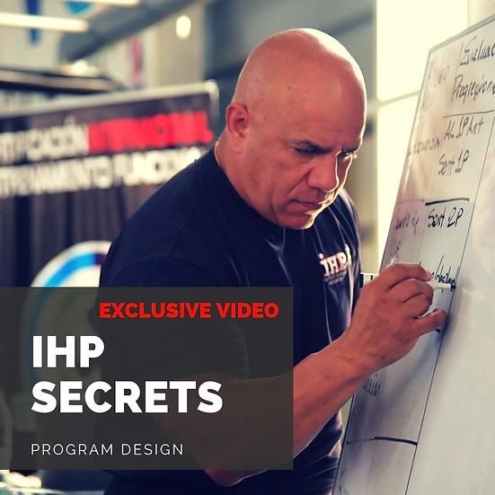 Exclusive Video - Program Design with JC Santana