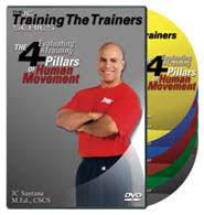 4 Pilars of Human Movement DVDs (5 DVDs)