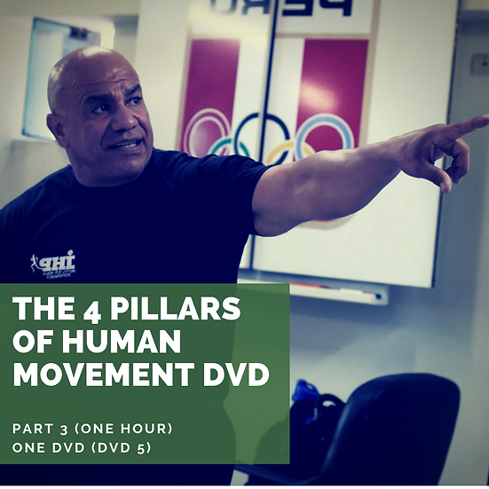 The 4 Pillars of Human Movement DVD (Part 3) One Hour!