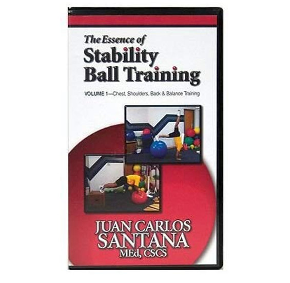 The Essence of Stability Ball training DVD Vol. 1 & Vol. 2